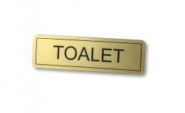 Laser plocica toalet