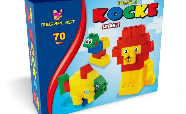 Mega kocke srednje 70