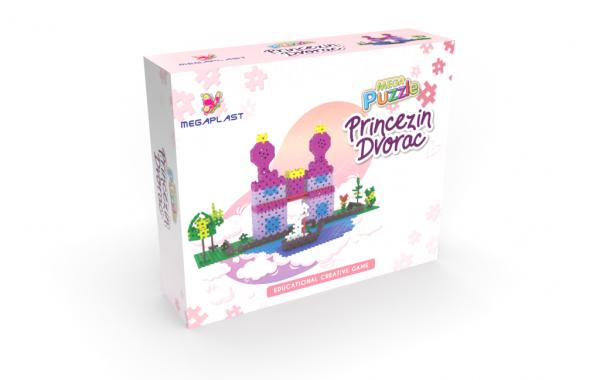 Mega Puzzle Princezin dvorac